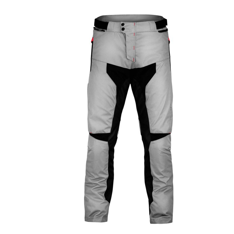 Pantaloni Moto Adventure Nero/grigio Taglia S