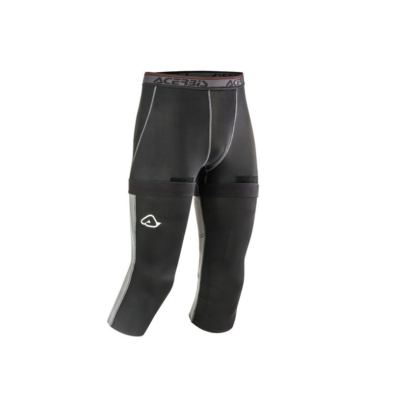 Rinforzo Ginocchio X-knee Geco Nero/grigio Taglia S/m
