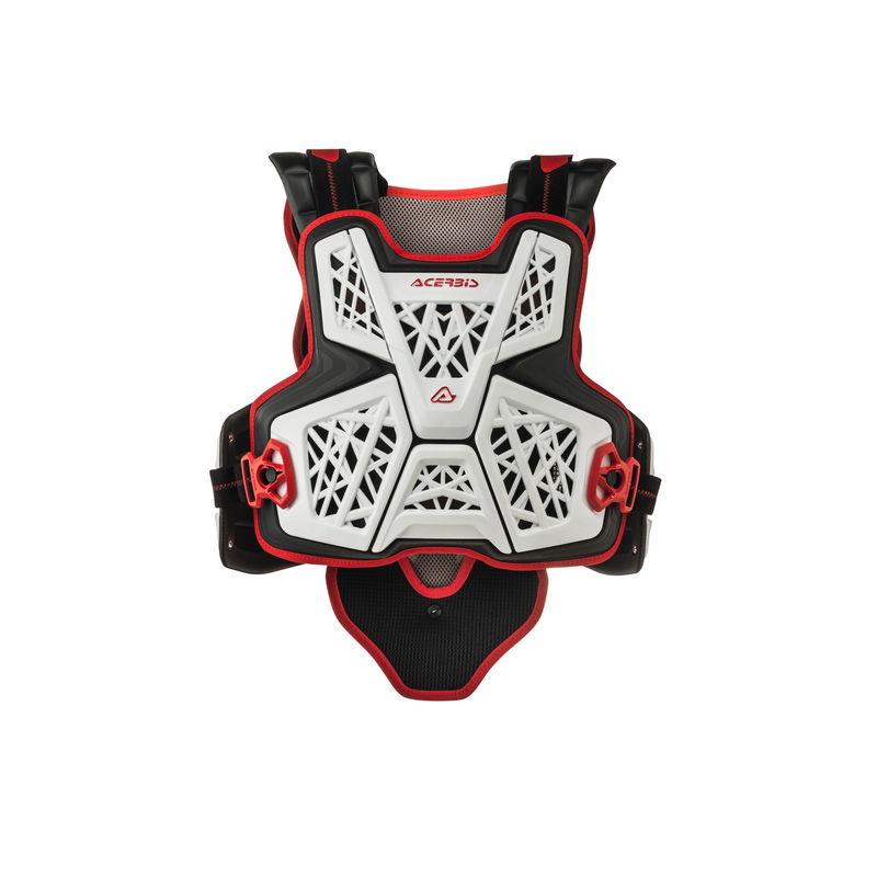 Jump Mx Chest Protector White/black Bike
