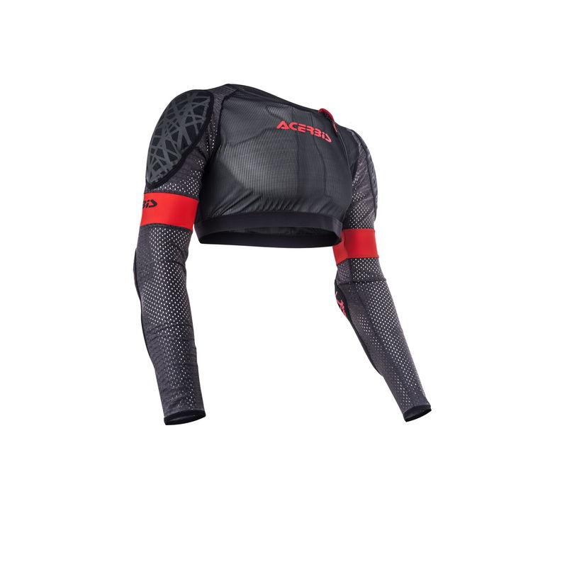 Galaxy Jacket Short Body Armour Grey/black Size S/m Bike
