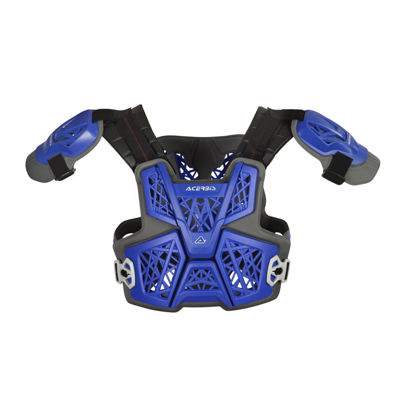 Gravity Roost Protector Vest Blue Bike