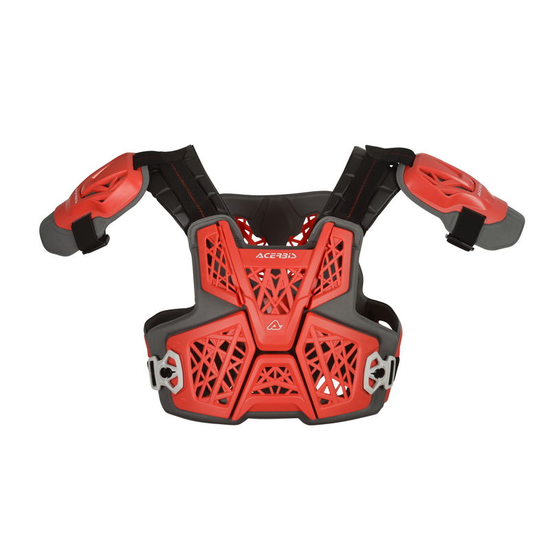 Gravity Roost Protector Vest Red Bike