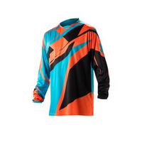 off road jersey profile orange/blue - size s Blue / Red