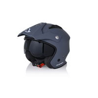 jet helmet aria grey size xs (53-54cm) gray