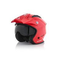 jet helmet aria red size xs (53-54cm) red