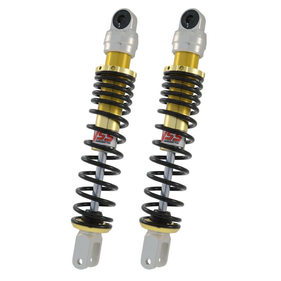 Pair of shock absorbers TE302-340T-04AL-X YAMAHA MAJESTY 125 125 05>