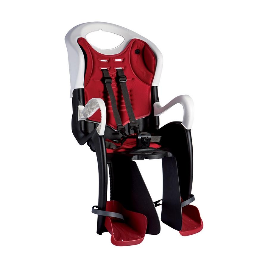 Rear child bike seat Tiger B-Fix mount white / black
