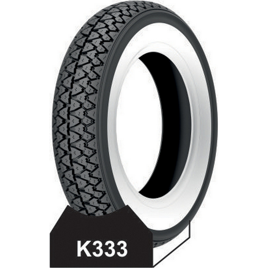 Tyre 3.50-10 white wall