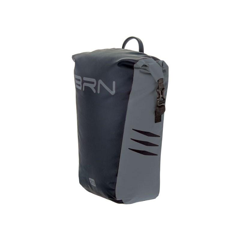 borsa posteriore himalaya 20 litri nero grigio