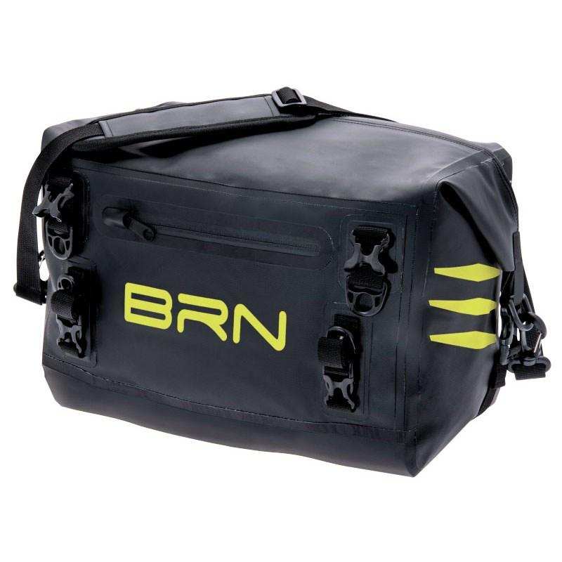 borsa posteriore nevada 15 litri nero giallo fluo