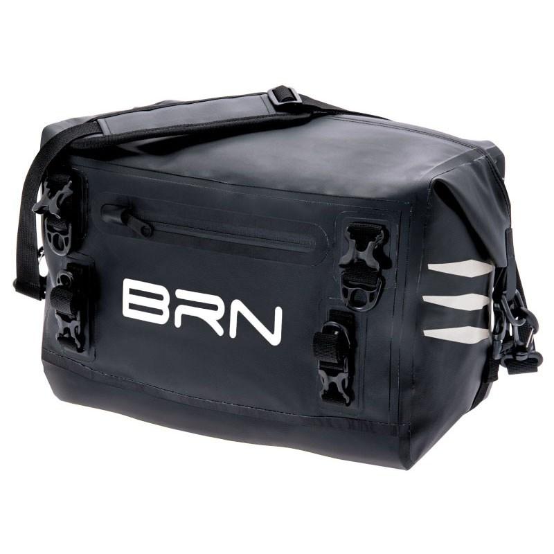 borsa posteriore nevada 15 litri nero bianco