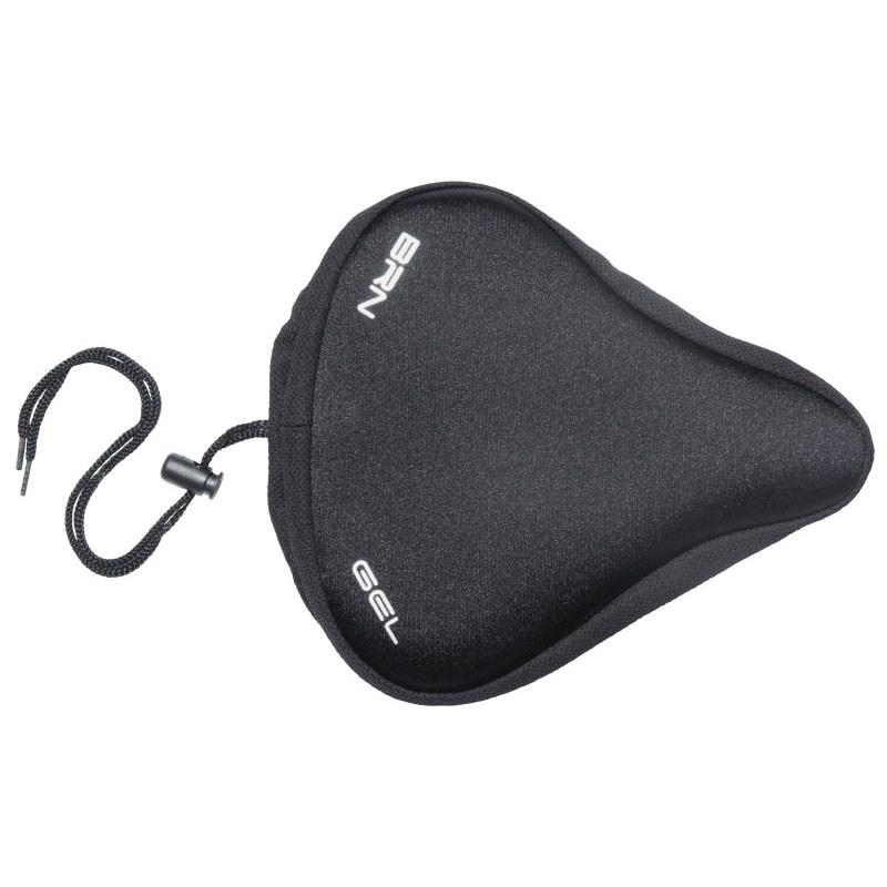 saddle cover travel gel padding black