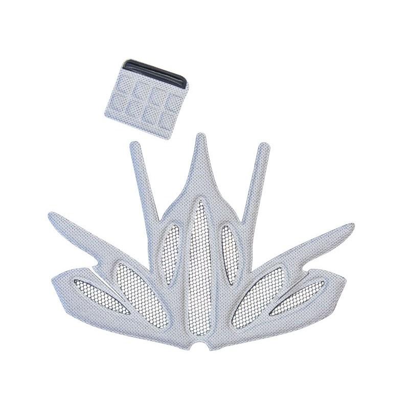 spare net and inner padding for helmet weave