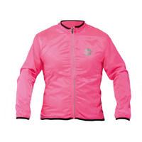 windproof long sleeve jacket fuxia size s fuchsia