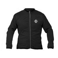 windproof long sleeve jacket black size s black