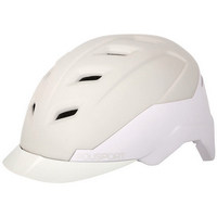 white e'city helmet size m (54-59cm) white