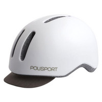 white commuter helmet size m (54-58cm) white