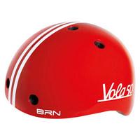 casco bimbo vola 50 rosso taglia xxs 44-48cm rosso