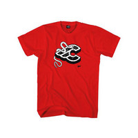 mike giant red t-shirt size s red