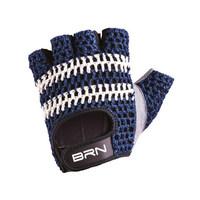 vintage gloves veloce blue size m blue