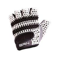 vintage gloves veloce white size m white