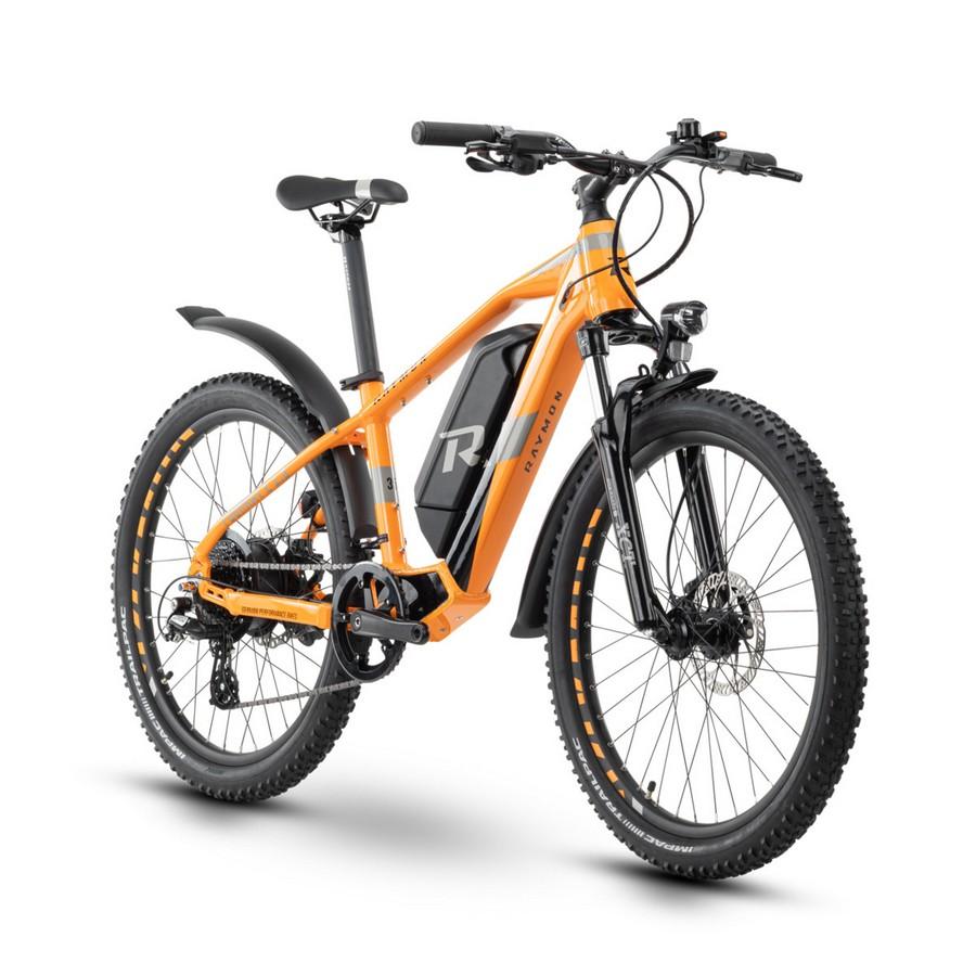 FourRay E 1.5 Street Kid 24'' 8s 300Wh SR Suntour Orange/Grey 2021 Size 32