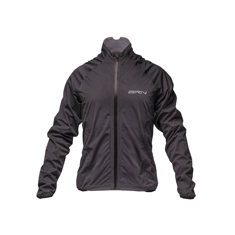 Waterproof Jacket Hexagon Grey Size S