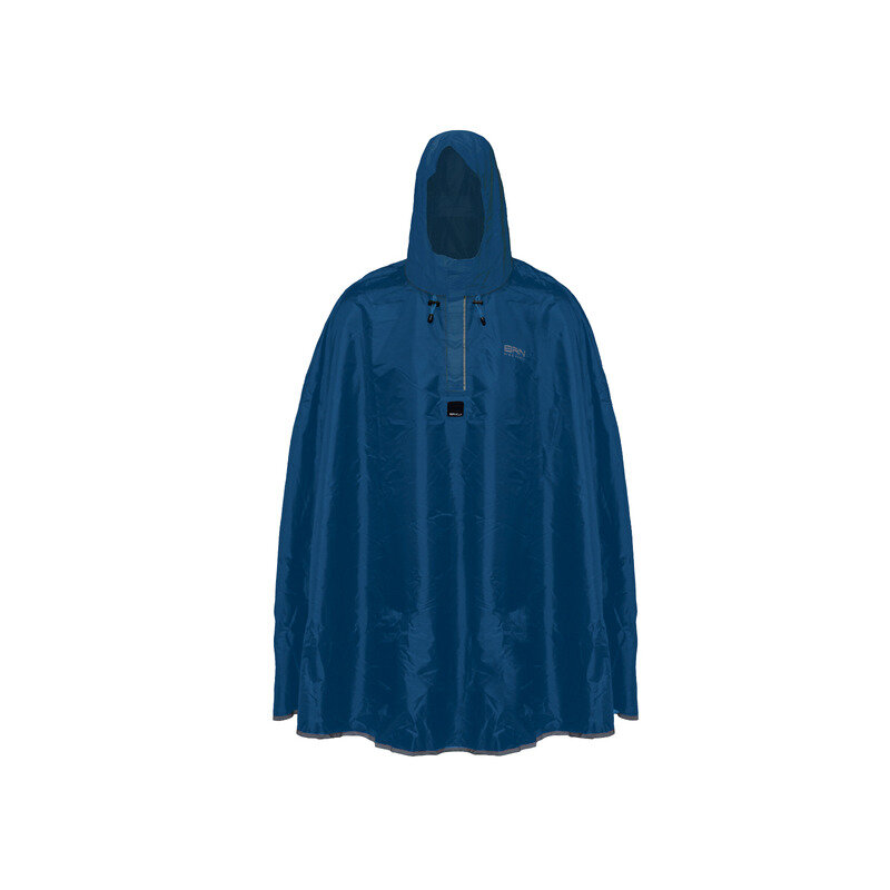 Waterproof Poncho Blue Size S/M
