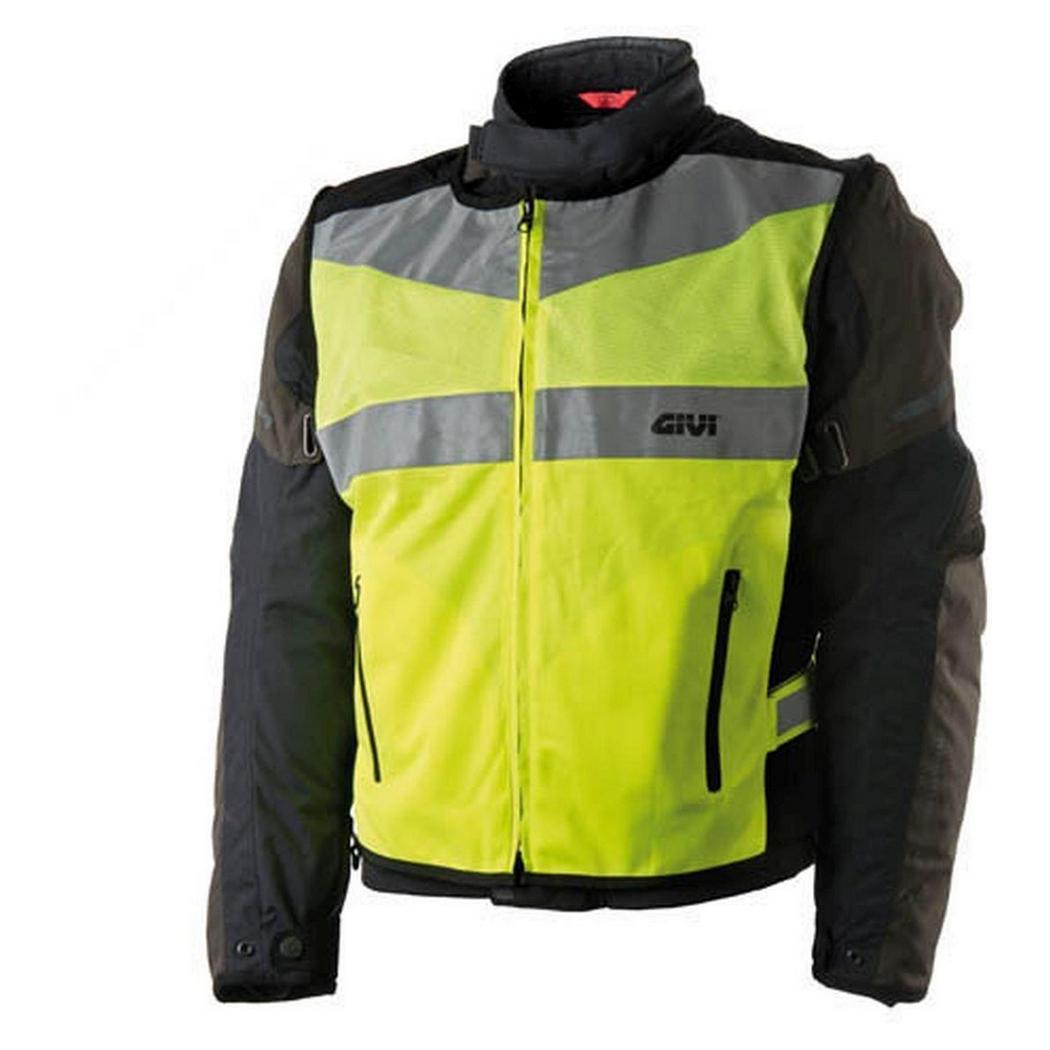 VEST01 Trekker Vest High visibility vest with reflective stripes size S/M