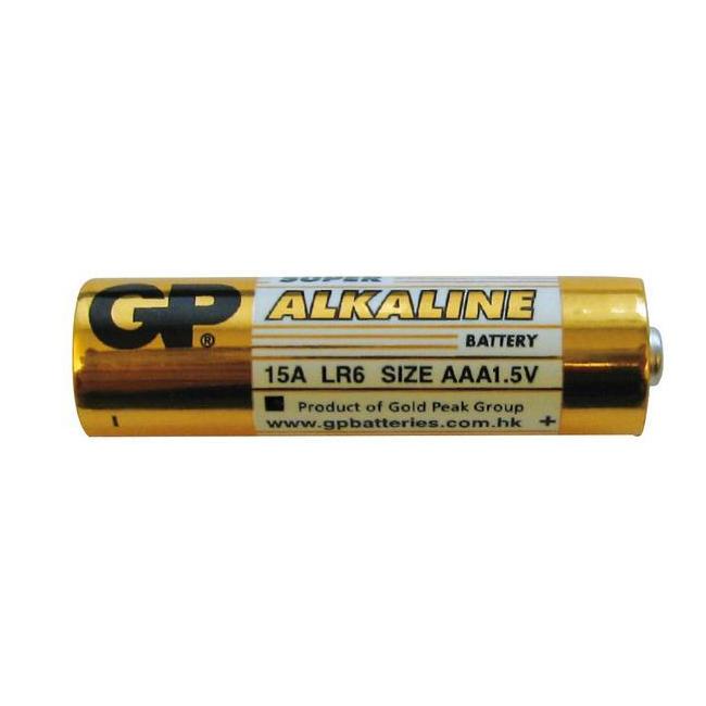 Battery alkaline penlight aa 1,5v