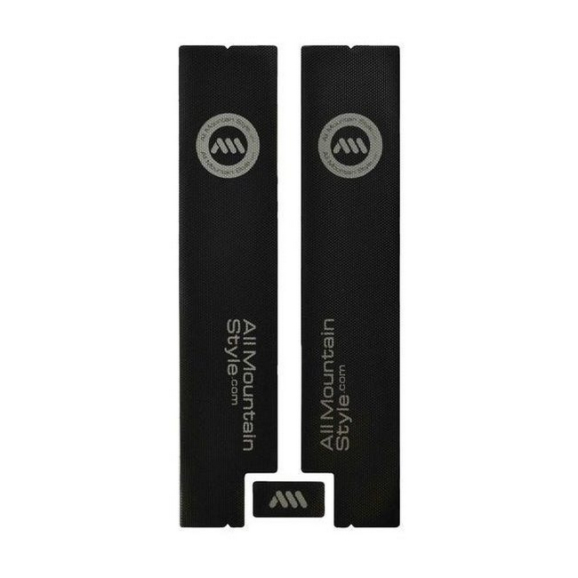 Honeycomb protection fork lowers guard set black / silver