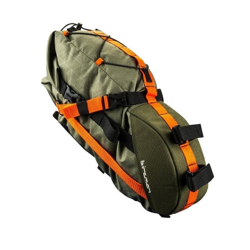 Packman travel saddle pack 6 lt green