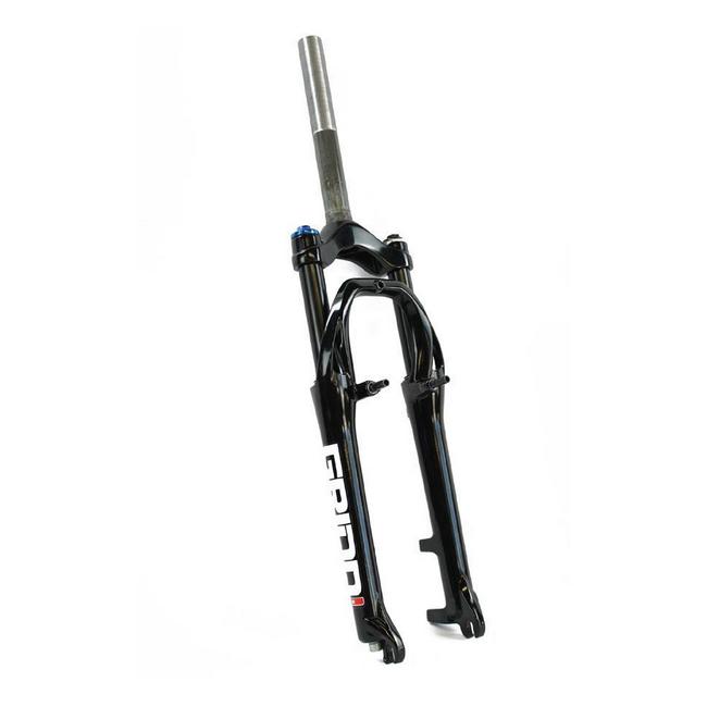 Forcella 26 mtb ammortizzata 1-1/8'' Grind alluminio a filetto nero