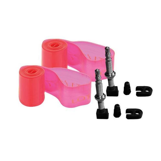 Kit conversione Tubeless 25 mm per ruote 29'' flap + valvole tubeless