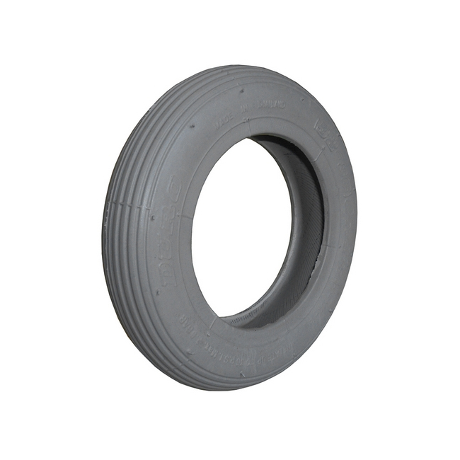 Wheelchair Smooth Surface Tire 6x1-1/4 Grey