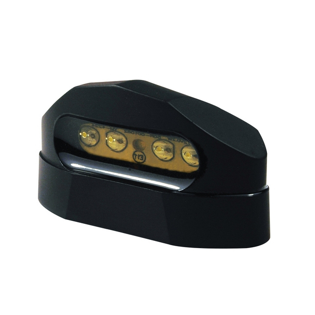 Fanalino targa 4 LED universale omologato