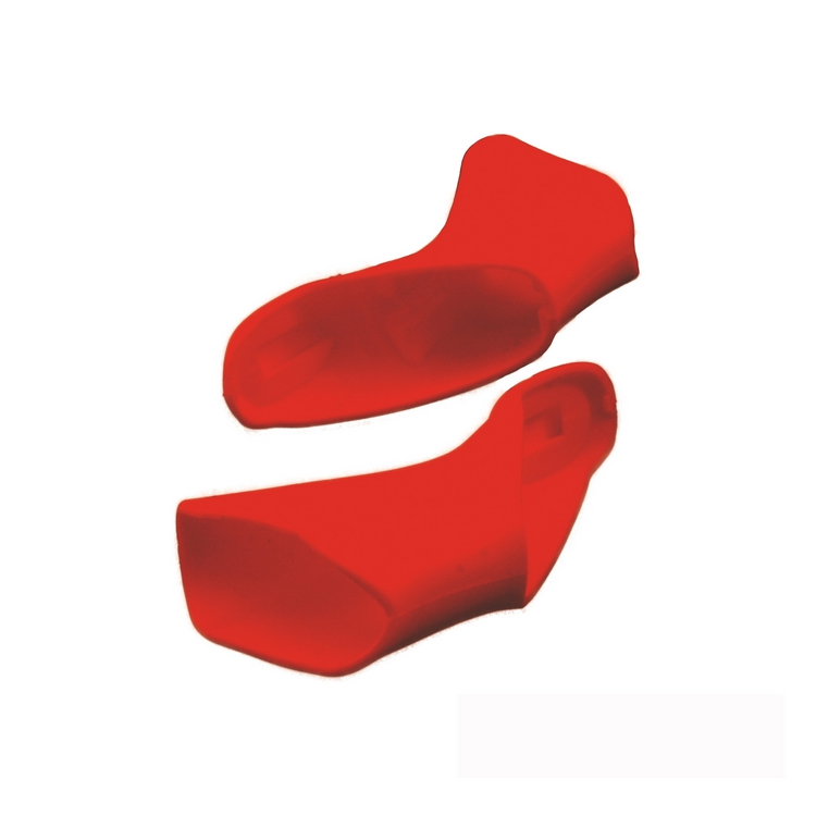 Pair of shifter covers Shimano 7900 red color
