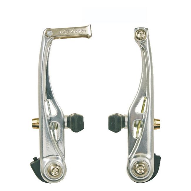 Pair alloy v-brake silver color