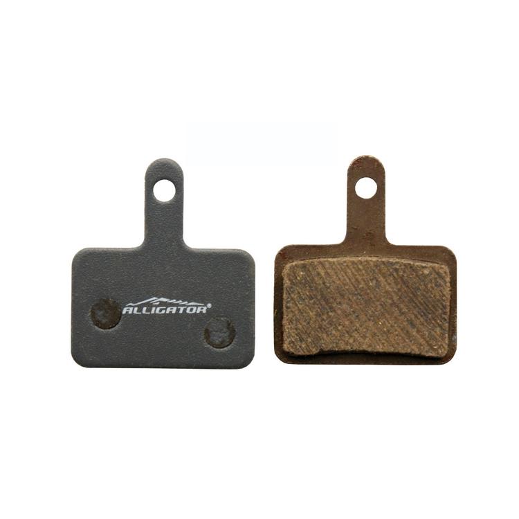 Semi-metallic brake pads suitable for shimano Deore MT200, MT201, MT400, MT500, Nexave mech