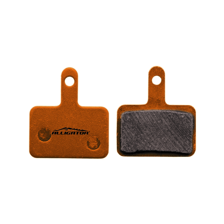 Pair of organic pads compatible with Shimano Deore, MT200, MT500