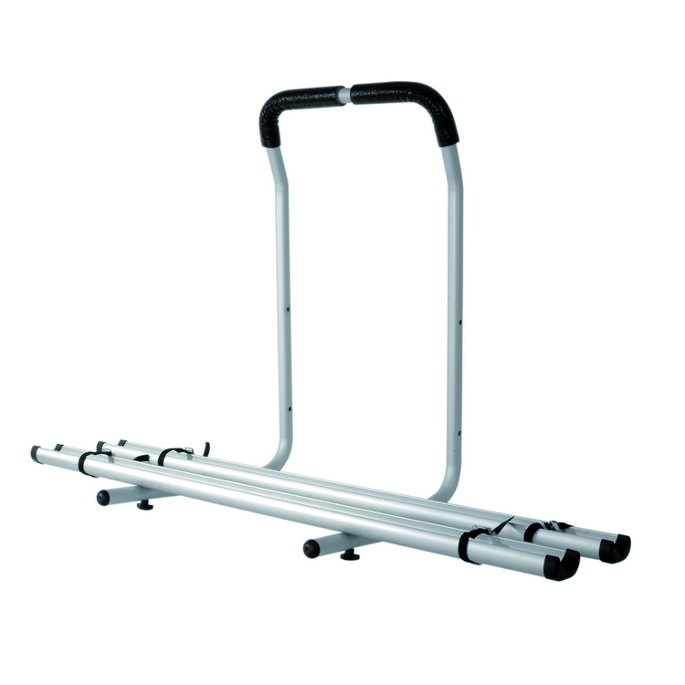 Bike aluminium carrier with railroads Stelvio for 4x4
