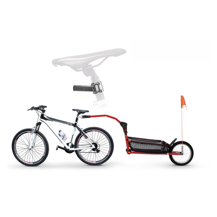 Attack bike seat tube adult