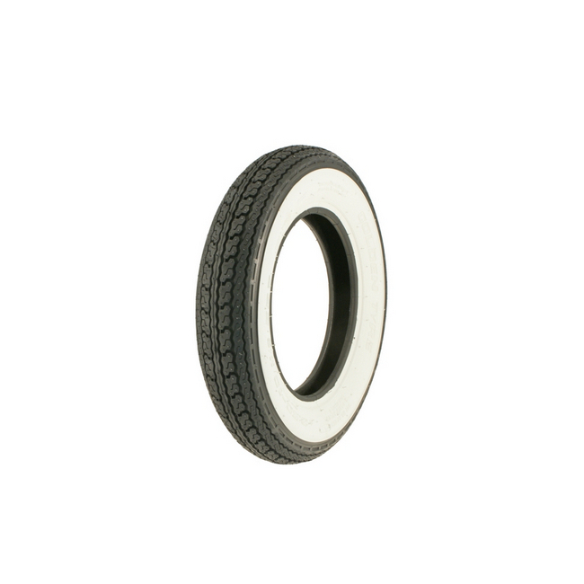 Tyre 3,50x8 white wall