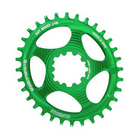 corona snaggletooth ovale 30t direct mount sram gxp boost verde verde