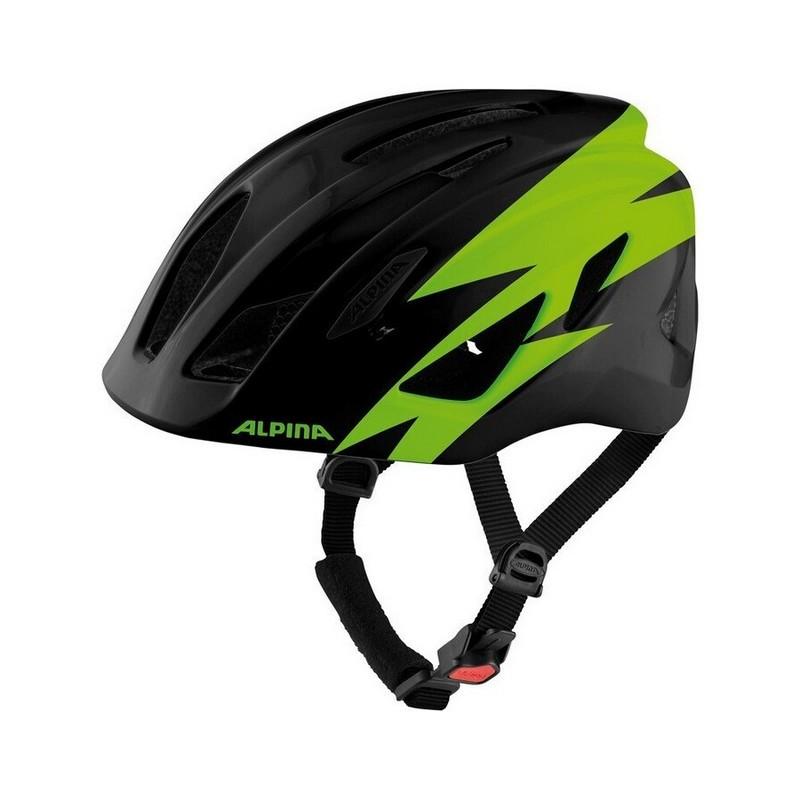 Junior Helmet Pico Black/Green Gloss One Size (50-55cm)