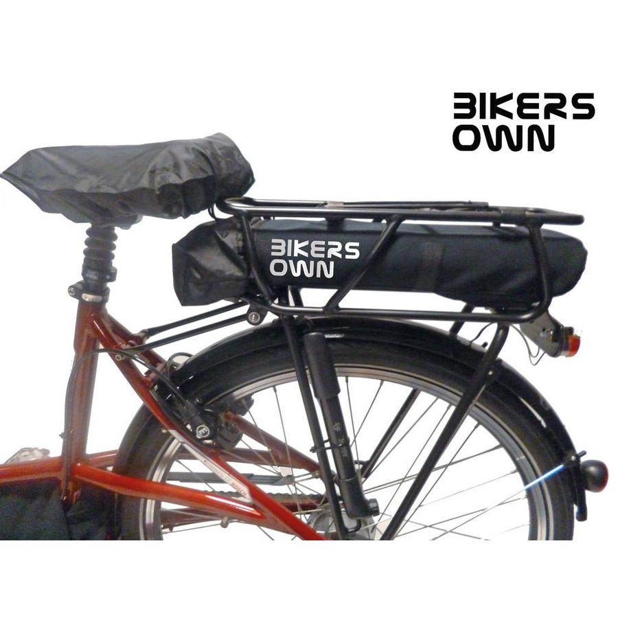 rear rack battery guard cover case4rain bosch powerpack 300 / 400