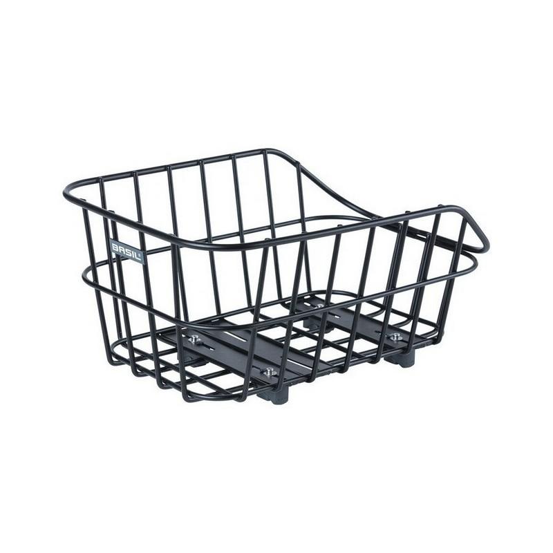 Rear Wheel Basket Cento Aluminum WSL Wide Meshed Black