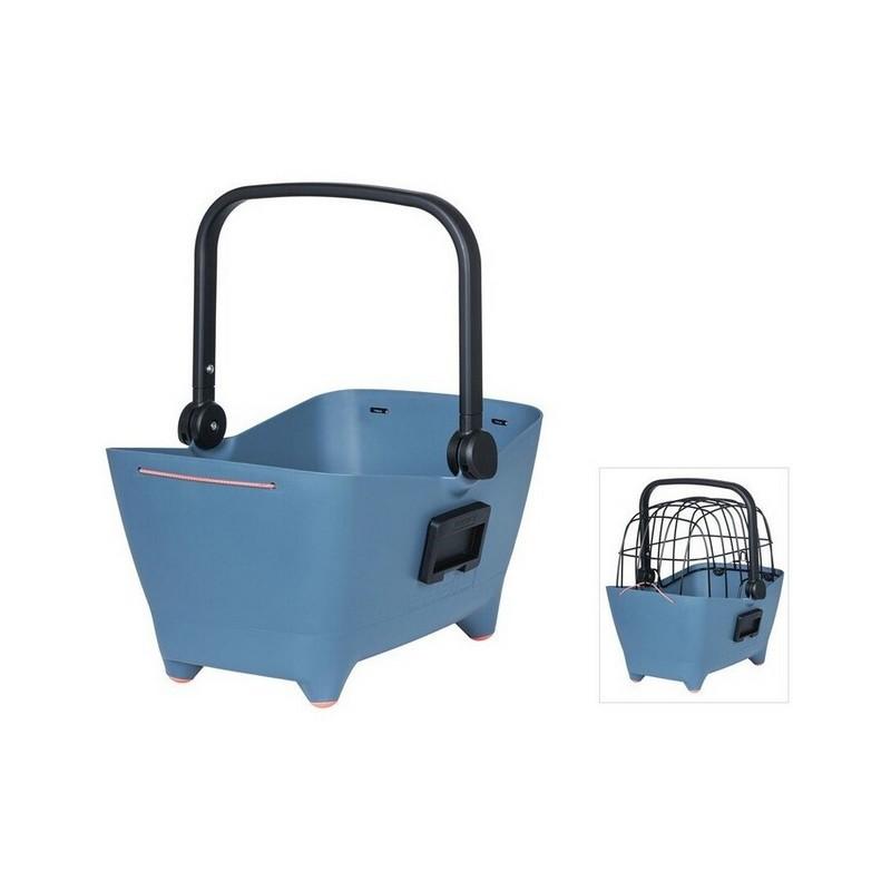 Front Wheel Pet Basket Buddy KF System Plastic Blue