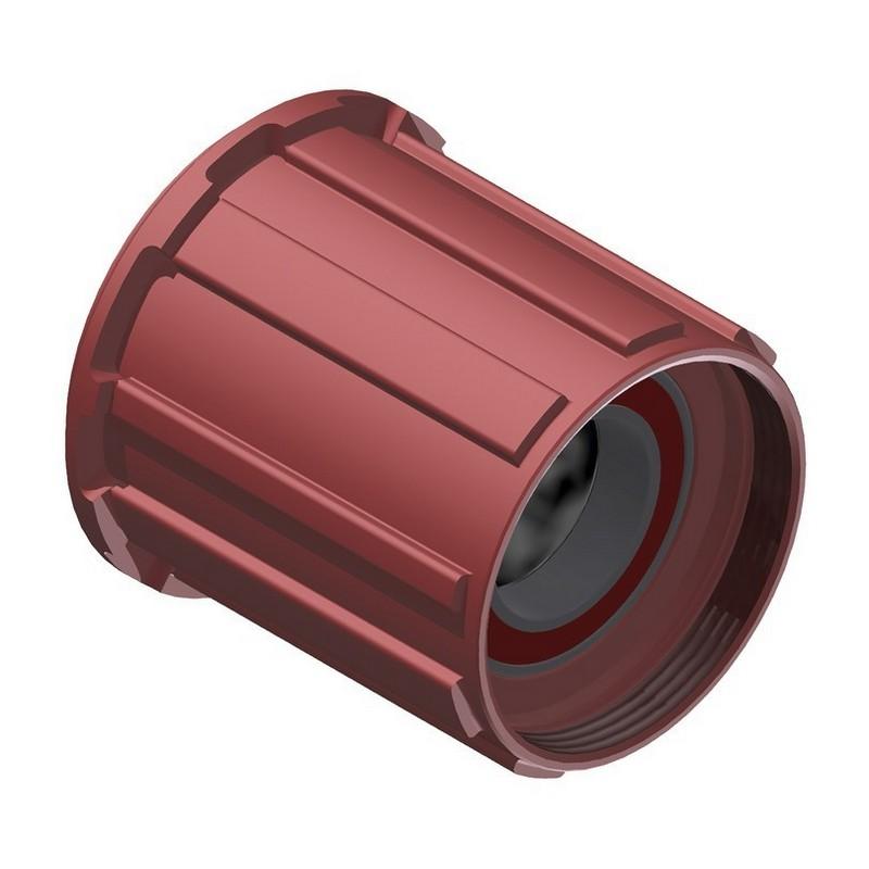 Freehub Body Ratchet Shimano MTB light Aluminum Red