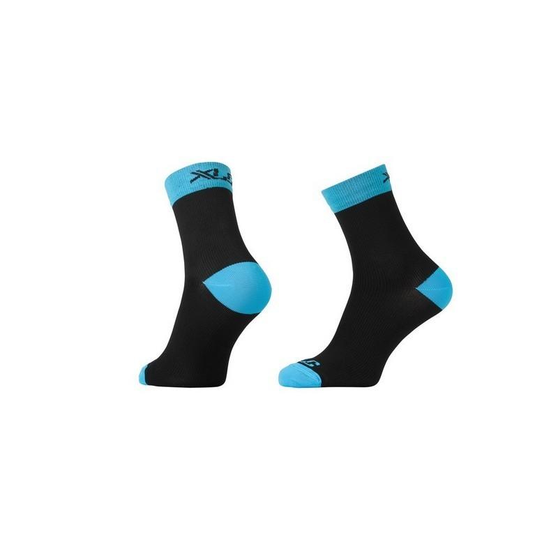 Race Compression Socks CS-C03 Black/Blue Size XS (36-38)